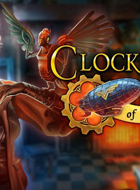 Clockwork Tales: Of Glass and Ink Key Art