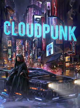 Cloudpunk Key Art