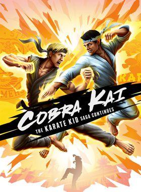 Cobra Kai: The Karate Kid Saga Continues Key Art