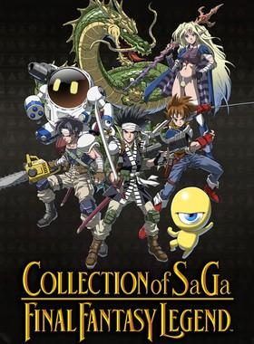 COLLECTION of SaGa FINAL FANTASY LEGEND Key Art