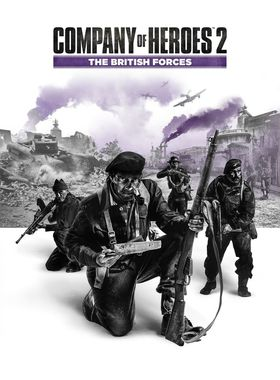 Company of Heroes 2: The British Forces Key Art
