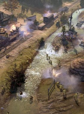 Company of Heroes 2: The Western Front Armies Key Art