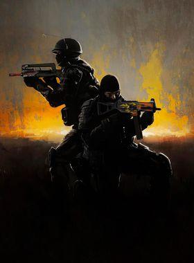 Counter Strike: Global Offensive Key Art
