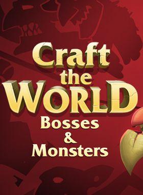 Craft The World - Bosses & Monsters Key Art
