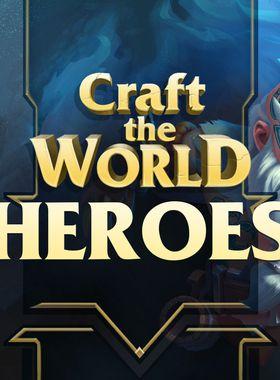 Craft The World - Heroes Key Art
