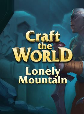 Craft The World - Lonely Mountain Key Art