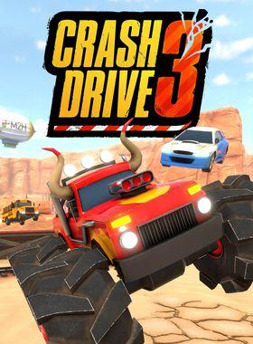 Crash Drive 3 Key Art
