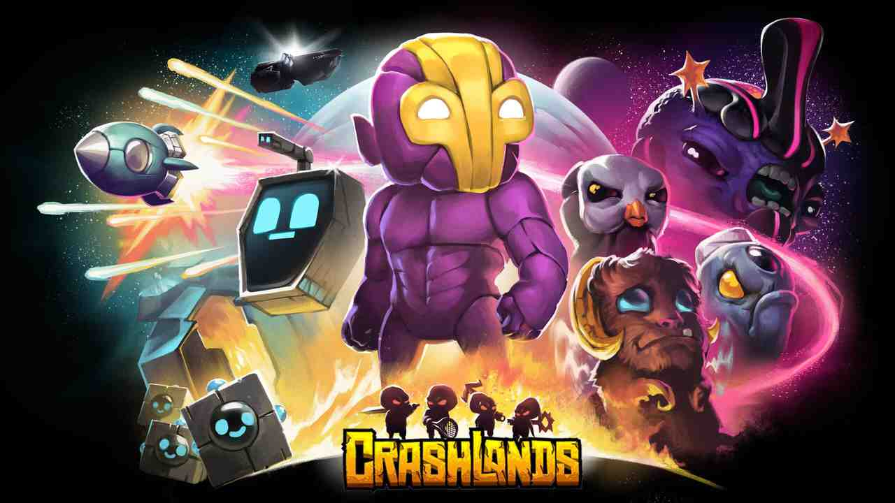 Crashlands Background Image