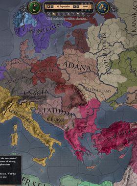Crusader Kings 2: Holy Fury Key Art