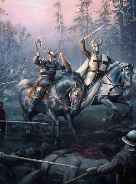 Crusader Kings 2 Key Art