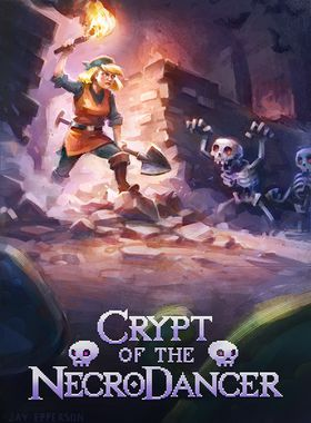 Crypt of the Necrodancer Key Art
