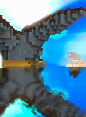 Cube Life: Island Survival Key Art
