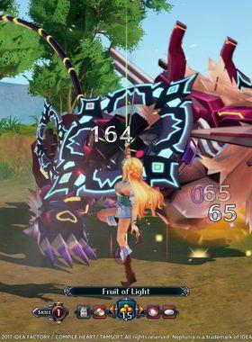 Cyberdimension Neptunia: 4 Goddesses Online Key Art