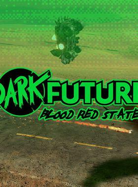 Dark Future: Blood Red States Key Art