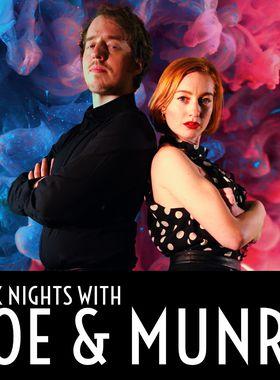 Dark Nights with Poe and Munro Key Art