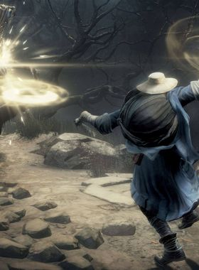 Dark Souls 3: Ashes of Ariandel Key Art