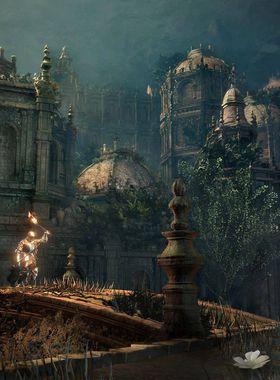 Dark Souls 3: The Ringed City Key Art