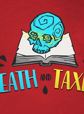 Death and Taxes Key Art