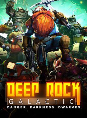 Deep Rock Galactic Key Art