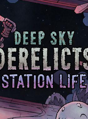 Deep Sky Derelicts - Station Life Key Art