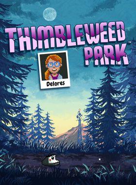 Delores: A Thimbleweed Park Mini-Adventure Key Art