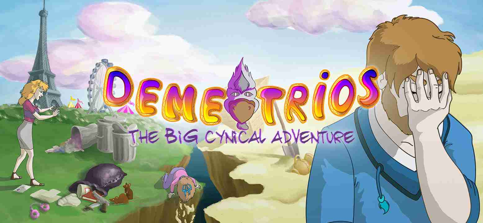 Demetrios - The BIG Cynical Adventure Background Image