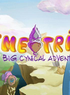 Demetrios - The BIG Cynical Adventure Key Art