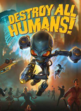 Destroy All Humans! Key Art