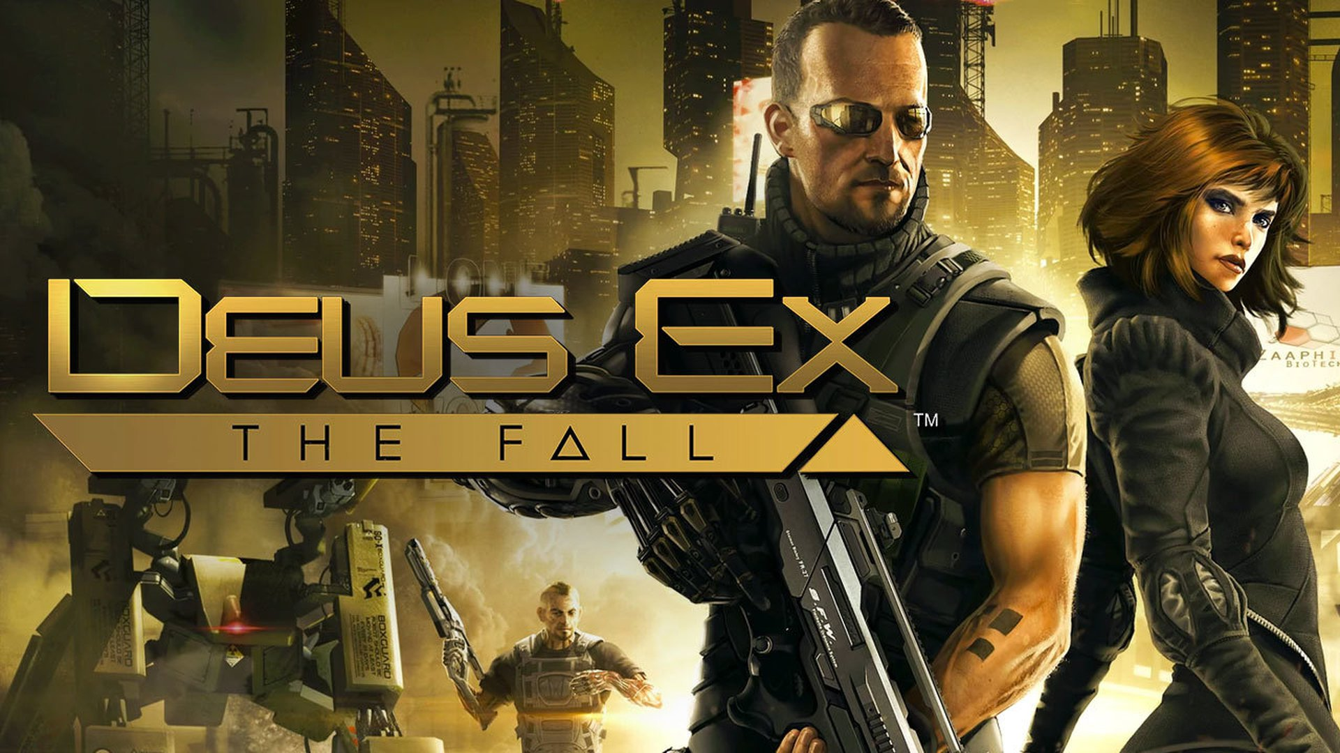 Deus Ex: The Fall Video