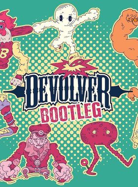 Devolver Bootleg Key Art