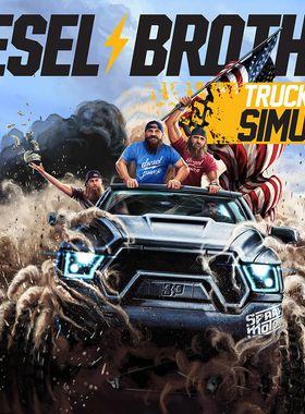 Diesel Brothers: Truck Building Simulator Key Art