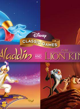 Disney Classic Games: Aladdin and The Lion King Key Art