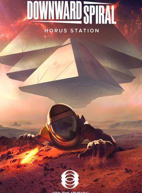 Downward Spiral: Horus Station Key Art