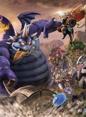 Dragon Quest Heroes 2 Key Art