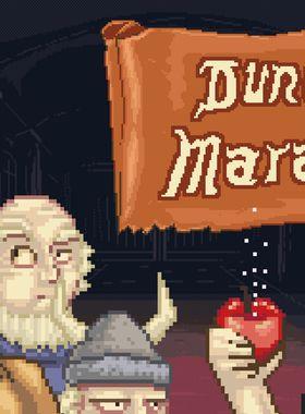 Dungeon Marathon Key Art