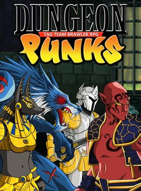 Dungeon Punks Key Art