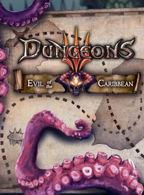 Dungeons 3 - Evil of the Caribbean Key Art