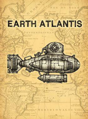 Earth Atlantis Key Art