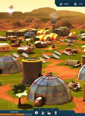 Earth Space Colonies Key Art