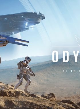 Elite Dangerous: Odyssey Key Art