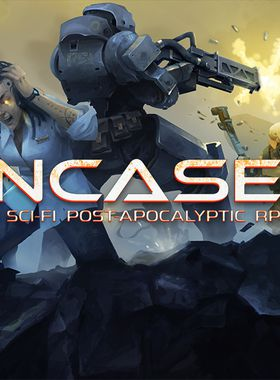 Encased: A Sci-Fi Post-Apocalyptic RPG Key Art