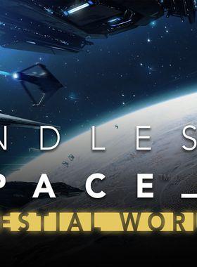 Endless Space 2 - Celestial Worlds Key Art