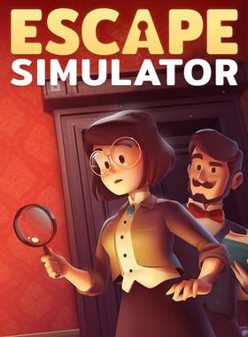 Escape Simulator Key Art