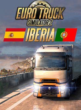 Euro Truck Simulator 2 - Iberia Key Art