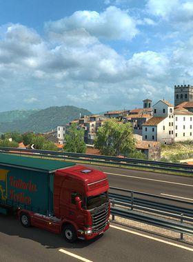 Euro Truck Simulator 2 - Italia Key Art