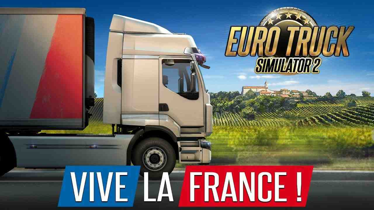Euro Truck Simulator 2 - Vive la France ! Background Image