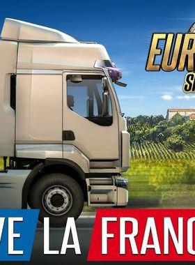 Euro Truck Simulator 2 - Vive la France ! Key Art