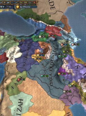 Europa Universalis 4: Cradle of Civilization Key Art