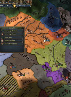 Europa Universalis 4: Dharma Key Art