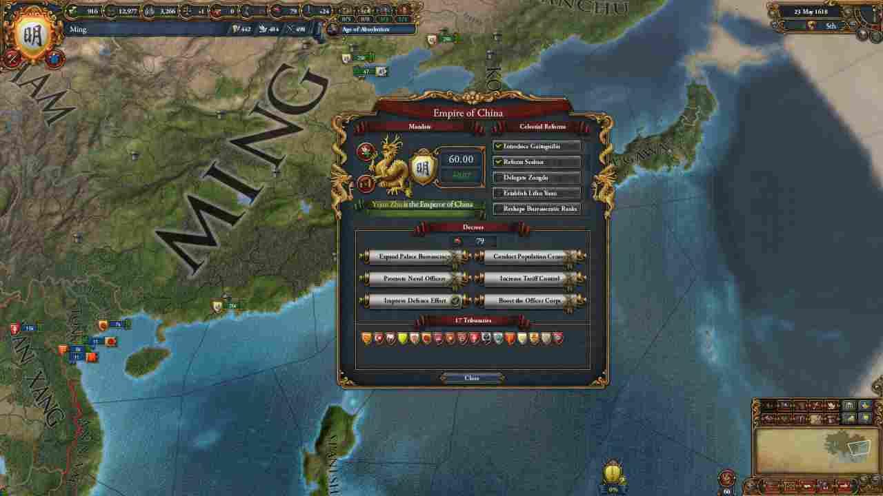 Europa Universalis 4: Mandate Of Heaven